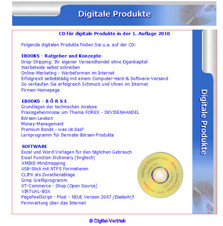 Digital-CD mit eBooks und Software